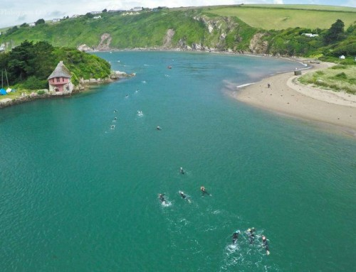 A celebration of swimming: the wild and wonderful Bantham Swoosh
